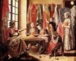 The Couturier's workshop Arles 1760 by Antoine Raspal