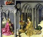 The Annunciation c.1445 by Master of the Aix Annunciation