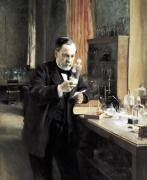 Louis Pasteur in his Laboratory 1885 by Albert Gustaf Aristides Edelfelt