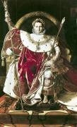 Napoleon I on the Imperial Throne 1806 by Jean-Auguste-Dominique Ingres