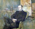 Paul Leclercq 1897 by Henri de Toulouse-Lautrec