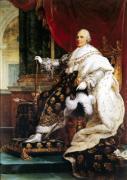 Louis XVIII by Baron Francois Pascal Simon Gerard