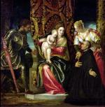 Virgin and Child between St. Justine and St. George by Paolo Caliari Veronese