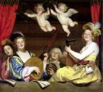 The Concert 1624 by Gerrit van Honthorst