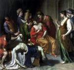 The Death of Anthony and Cleopatra 1630 by Alessandro Turchi