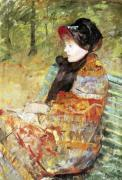 Portrait of Mlle C. Lydia Cassatt 1880 by Mary Cassatt