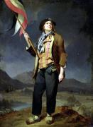 The Singer Chenard as a Sans-Culotte 1792 by Louis-Leopold Boilly