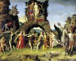 The Parnassus' Mars and Venus by Andrea Mantegna