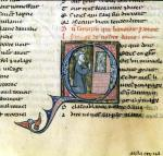 Saracen converted by an image of the Virgin by Anonymous