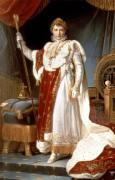 Napoleon in Coronation Robes c.1804 by Francois Georgin