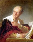 Portrait of Denis Diderot c.1769 by Jean-Honoré Fragonard