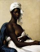 Portrait of a Negress 1799 by Marie Guilhelmine Benoist