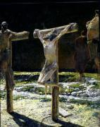The Crucifixion 1893 by Nikolai Nikolaevich Ge Gay