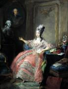 Louise Marie Josephine of Savoy Countess of Provence 1775 by Jean Baptiste Andre Gautier d'Agoty
