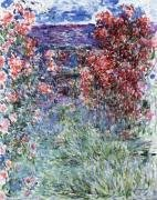 The House at Giverny under the Roses 1925 by Claude Monet