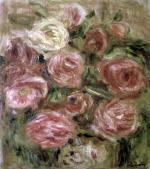 Flowers 1913 by Pierre Auguste Renoir