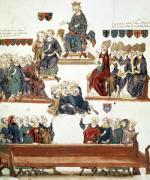 The Trial of Robert d'Artois Count of Beaumont 1331 by Nicolas Claude Fabri de Peiresc