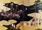 The Arrival of the Portuguese in Japan by Art du Japon