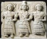 Triad of Palmyrene Gods from Palmyra Region by Syrian Art