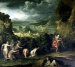 The Abduction of Proserpine by Niccolo Dell'Abate