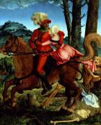The Knight the Young Girl and Death by Hans Baldung Grien