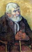 Portrait of an Old Man with a Stick 1889 by Paul Gauguin