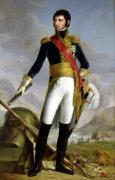 Portrait of Charles Jean Baptiste Bernadotte by Joseph Nicolas Jouy