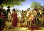 Napoleon Bonaparte Pardoning the Rebels at Cairo 1806 by Baron Pierre-Narcisse Guerin