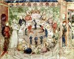 Sir Galahad is Welcomed to the Round Table c.1380 by Italian School