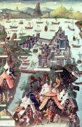 The Siege of Constantinople c.1450 by French School