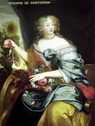 Portrait of Francoise-Athenaise Rochechouart de Mortemart by French School