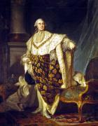 Louis XVI King of France in Coronation Robes 1777 by Joseph Siffred Duplessis