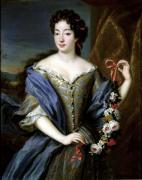 Portrait of Anne de Baviere by Pierre Gobert