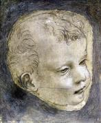 Head of a Child by Leonardo da Vinci