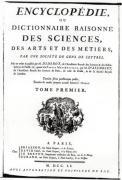 Frontispiece to 'The Encyclopedia of Science Art and Engineering' by French School