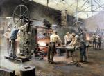 The Rolling Mill by Ferdinand Gueldry