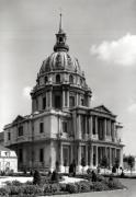 Facade of the Church of St. Louis Dome des Invalides by Jules Hardouin Mansart
