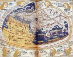 Map of the world 1486 by Ptolemy Claudius Ptolemaeus of Alexandriac