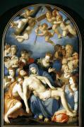 Deposition from the Cross 1543 by Agnolo Bronzino