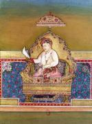 Akbar from an album of portraits of Mughal Emperors at Delhi 1774 by Indian School