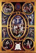 Altarpiece of Sainte-Chapelle depicting the Crucifixion 1553 by Niccolo Dell'Abate