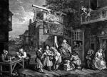 The Election II; Canvassing for Votes by William Hogarth