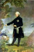 Portrait of Frederick II the Great 1772 by Anna Dorothea Therbusch Lisiewska