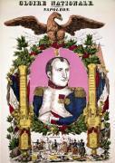 Portrait of Napoleon I in commemoration of the Battle of Austerlitz 1805 by Francois Georgin
