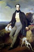 Portrait of Alphonse de Lamartine 1830 by Henri Decaisne