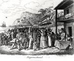 Slave Market in Martinique by Albert Schule