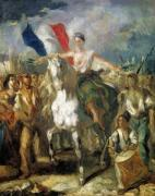 Study for 'Liberty' 1830 by Louis Boulanger