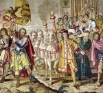 The Triumph of Charles V from 'The Tapestry of Charles Quint' c.1630 by Flemish School