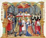 Marriage of Maria of Burgundy and Maximilian I by French School