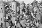 The Siege of Jargeau 1484 by Martial de Paris